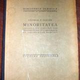 Minoritatea – Legislatia Ungara din Transilvania in comparatie cu legislatia romana - George P. Docan
