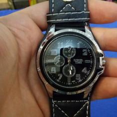Ceas DIESEL TIME - Barbatesc, Quartz, Casual, MOdel Barbatesc - Model Negru - Ceas barbatesc Diesel, Analog, Nou