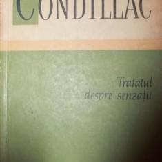 TRATATUL DESPRE SENZATII - CONDILLAC - Filosofie