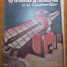 Ziarul stiintelor si al calatoriilor 19 noiembrie 1946 - Revista culturale