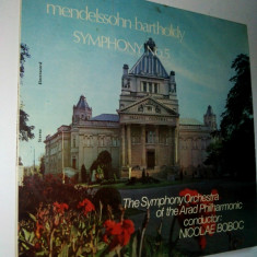 Disc vinil / vinyl - Mendelssohn Bartholdy - Symphony No. 5 Electrecord - Muzica Clasica