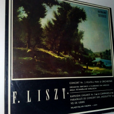 Disc vinil / vinyl - F. Liszt Rapsodia Ungara - Electrecord - Muzica Clasica