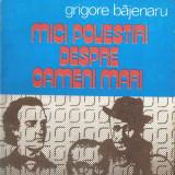 Carte 152 - Grigore Bajenaru - Mici povestiri despre oameni mari