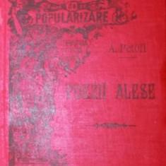 POEZII ALESE ( TRADUCERE DE ST. O. IOSIF ) - ALEXANDRU PETOFI - Carte de colectie