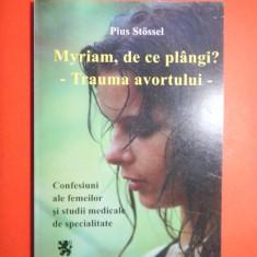 MYRIAM DE CE PLANGI?TRAUMA AVOTULUI Pius Stossel - Carte Ghidul mamei
