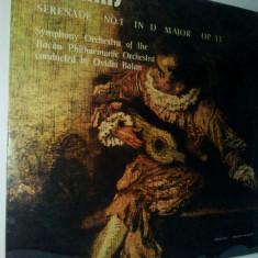 Disc vinil / vinyl - BRAHMS Serenada in re major pentru orchestra - Electrecord