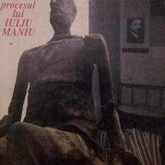 VIATA POLITICA SI PROCESUL LUI IULIU MANIU - CICERONE IONITOIU - Istorie