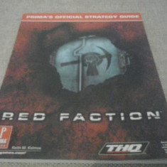 Red Faction - Prima's Official - STRATEGY GUIDE ( GameLand )