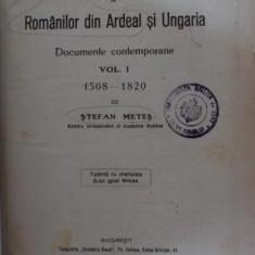 VIEATA ROMANILOR DIN ARDEAL - STEFAN METES - Istorie