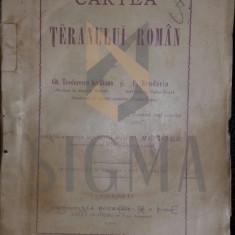 GH, . TEODORESCU KIRILEANU, C. BRUDARIU - CARTEA TERANULUI ROMAN, 1901 - Carte de colectie