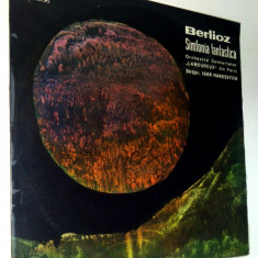 Disc vinil / vinyl - Berlioz - Simfonia Fantastica - Electrecord - Muzica Clasica