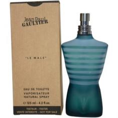 Parfum Tester Jean Paul Gautier Le male - Parfum barbati Jean Paul Gaultier, Apa de toaleta, 125 ml