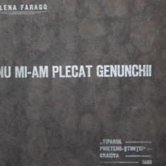 NU MI-AM PLECAT GENUNCHII - ELENA FARAGO - Carte de aventura