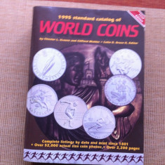 Catalog World Coins Standard of World 1995 monede numismatica colectie hobby