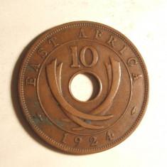 EST AFRICA 10 CENTI 1924