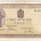 Bancnota 500 lei 2.IV.1941 filigran vertical (12)