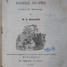 ISTORIA LUI CAROL XII REGELE SVETIEI - D. N. RACIVITZA ( TRADUCATOR ), 1846 - Carte de colectie