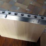 Sablon template jig mobilier PAL pentru ericsoane lungime 200mm gauri 5mm NOU - accesoriu mobila