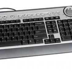 Tastatura Modecom MC-9001 cu telefon pentru Skype, Multimedia, Cu fir, USB