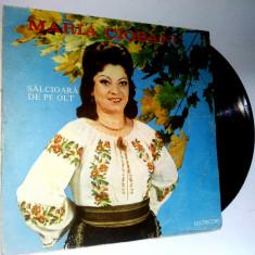 Disc vinil \ vinyl Muzica Populara electrecord MARIA CIOBANU - Salcioara de pe Olt