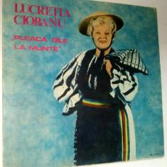 Disc vinil \ vinyl Muzica Populara electrecord LUCRETIA CIOBANU - Pleaca oile la munte
