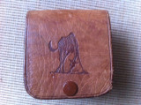 Gentuta cusuta din piele naturala pentru curea made in tanzania africa handmade