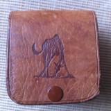 Gentuta cusuta piele naturala pentru curea tanzania made africa handmade hobby