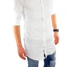 Camasa lunga bumbac - camasa alba - camasa barbati - cod produs: 6003, Marime: XL, XXL, Culoare: Din imagine, Maneca lunga