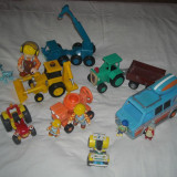 Bob the Builder - Wendy, Toosey, Travis, Lofty, Dizzy, Scoop, Scrambler, R-Vee