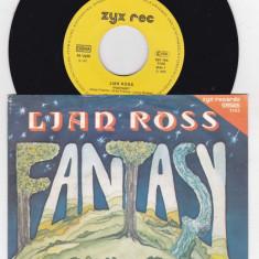 Lian Ross - Fantasy (1985, ZYX) Disc vinil single 7