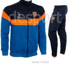 Trening NIKE FC BARCELONA - Bluza si Pantaloni Conici - Pret special - FCB28 - Trening barbati, Marime: XL, Culoare: Din imagine