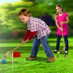 Joc de gradina cricket Eichhorn, Lemn, +3ani - Jocuri Forme si culori, Unisex