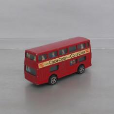 Daimler Fleet Bus Coca Cola, Corgi Juniors - Macheta auto