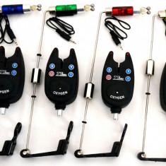 Set 4 Avertizori / Senzori Marca FL Si 4 Swingeri Lumino - Avertizor pescuit