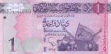 Bancnota Libia 1 Dinar 2013 - P76 UNC