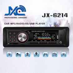 Radio MP3 Player Auto cu USB si Card Reader JX-6214 - CD Player MP3 auto
