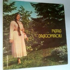 Disc vinil \ vinyl Muzica Populara MARIA DRAGOMIROIU - Electrecord