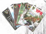 """Lot 6 reviste """"VANATORUL SI PESCARUL ROMAN"""", ani 2008, 2009, 2011, 2012., Alta editura"""