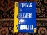 Dictionar de abrevieri si simboluri - S. Pitiriciu