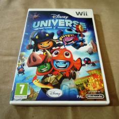 Disney Universe, pentru Wii, original, alte sute de jocuri - Jocuri WII Altele, Actiune, 3+, Single player