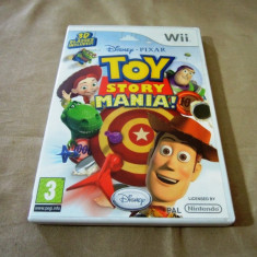 Disney Toy Story Mania, pentru Wii, original, alte sute de jocuri - Jocuri WII Altele, Actiune, 3+, Single player