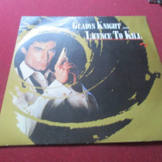 *** DISC VINIL GLADYS KNIGHT SINGS LICENCE TO KILL - Muzica soundtrack