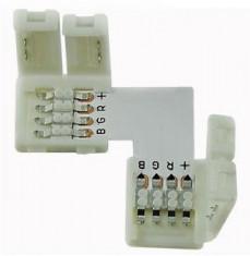 conector colt pentru banda led RGB (50 buc) foto
