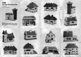 brosura unui joc gen Lego din anii '60