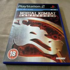 Joc Mortal Kombat Armageddon, PS2, original, alte sute de jocuri! - Jocuri PS2 Altele, Actiune, 18+, Multiplayer