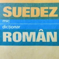 Mic dictionar Suedez Roman - Jorgen F. Salzer