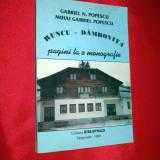 RUNCU - DAMBOVITA pagini la o monografie, Gabriel Popescu, Targoviste 1999 - Carte veche
