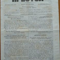Ziarul religios , Preotul , foaie saptamanala , nr.22 , 1863 , chirilica