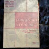 TEHNOLOGIE ELECTRONICA V. MAIER