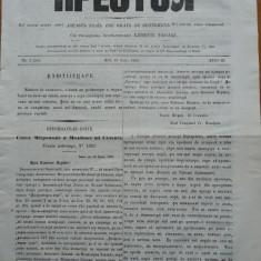 Ziarul religios , Preotul , foaie saptamanala , nr. 4 , 1863 , chirilica